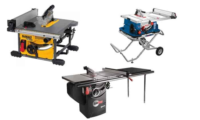 types-of-table-saws