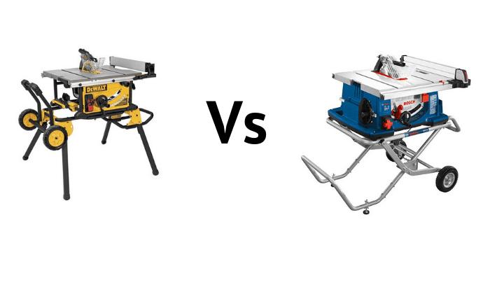 DeWalt DWE7491RS vs Bosch 4100-10