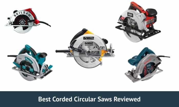 5 Best Corded Circular Saws In 2021 | Does DeWalt Dominate?