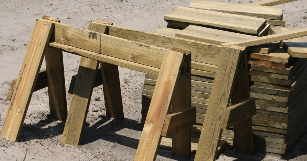 stackable sawhorses
